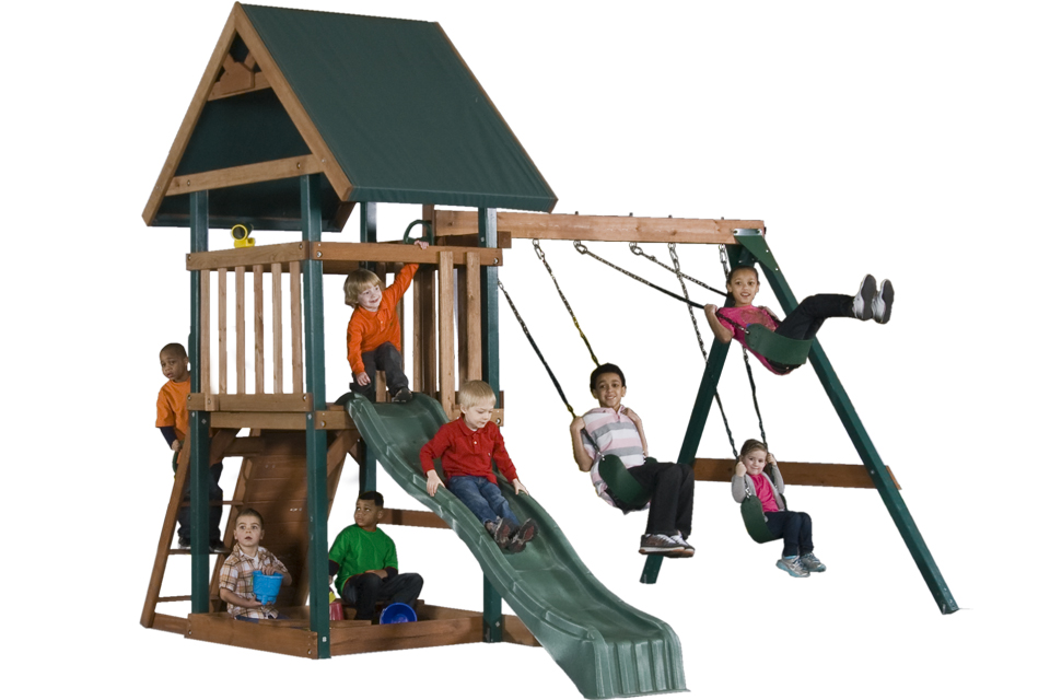 woode swing sets cost
