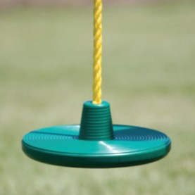 Image for Disc rope swing for 360 degrees of spinning fun!