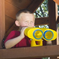 Binoculars can help your child's imagination soar.