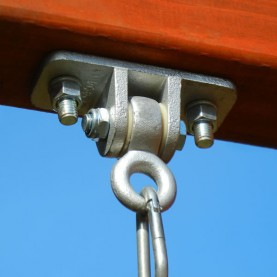 Image for Tough, heavy-duty galvanized iron swing hangers