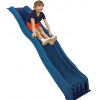 "This fun playground slide can be easily attached to play decks measuring 42"" - 48"" tall."