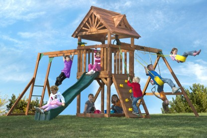 Image For Cedar Swing Sets With Tonu0027s Of Play Options And Value.