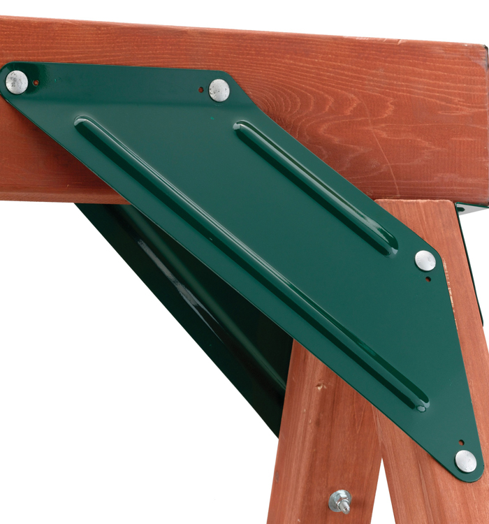 Steel A Frame Swing Set Braces For Playsets