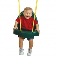 Safety belt keeps toddlers safe and secure. Supports up to 55 lbs.