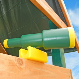 Image for Play set telescope - green/yellow